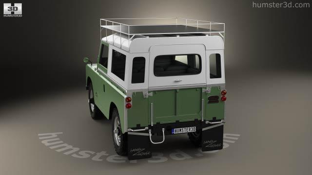 Land Rover Series Iia 88 Pickup 1968 3d Model Vehicles On Hum3d