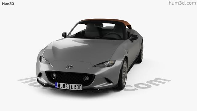 Mazda MX-5 Speedster 2015 3D model - Hum3D