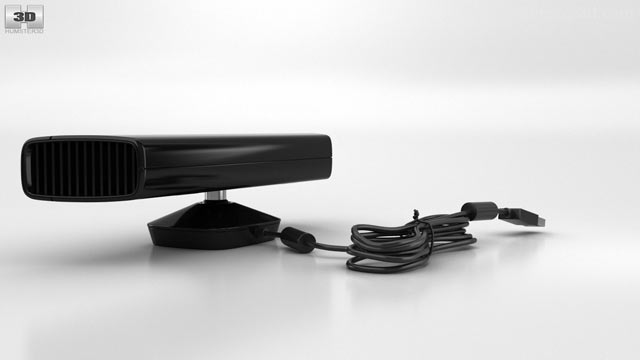 Microsoft Kinect for Xbox 360 3D model - Electronics on Hum3D
