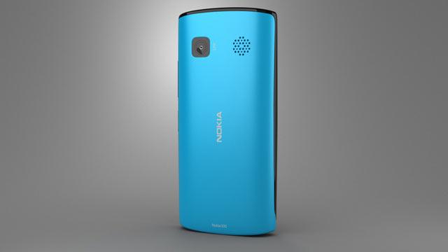 360 view of Nokia 500 3D model - Hum3D store