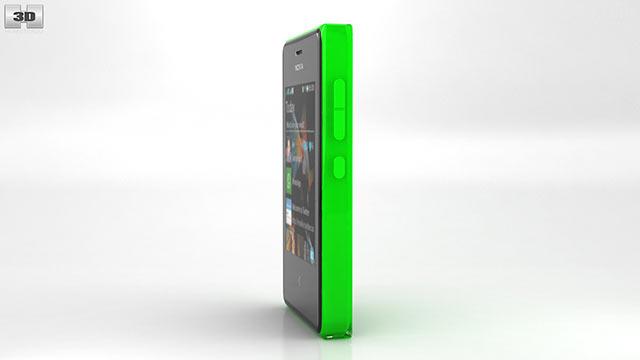 360 view of Nokia Asha 503 3D model - Hum3D store