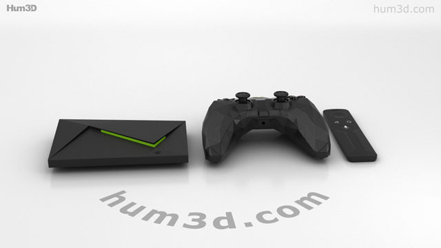 360 view of Nvidia Shield TV 3D model - Hum3D store