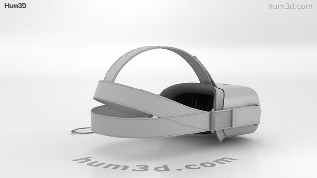 Oculus Go 3D model - Electronics on Hum3D