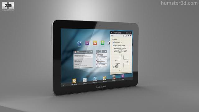 Samsung Galaxy Tab 10 1 3D model - Electronics on Hum3D
