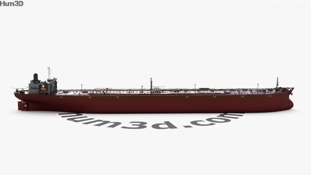360 view of Knock Nevis ULCC Supertanker 3D model - Hum3D store