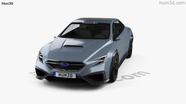 360 View Of Subaru Viziv Performance 2017 3d Model Hum3d Store