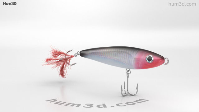 Fishing Lure 3D model - Life and Leisure on Hum3D