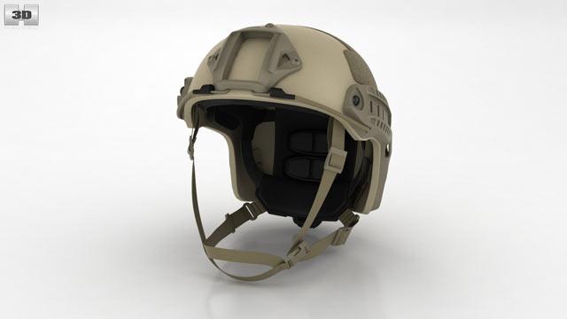 Ops-Core FAST Helmet 3D model - Clothes on Hum3D